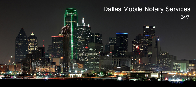 Mobile Notary Services in Texas